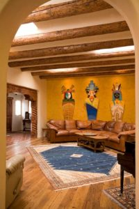 Custom Akrostucco Venetian Plaster Accent Wall - Remodel of Great Room
